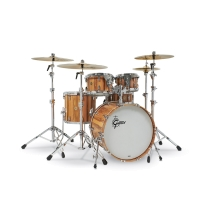 Gretsch Limited Edition USA Custom 5 Piece Exotic Red Gum Drum Kit