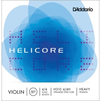 D'Addario Helicore Violin Set Strings 4/4 Size Heavy