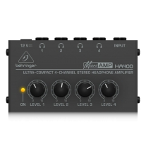 Behringer Microamp HA400 4-Channel Stereo Headphone Amplifier
