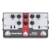 Hartke Bass Attack 2 - Electric Bass Preamp/Direct Box with Overdrive