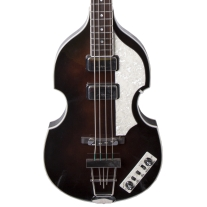 Hofner HCT-500/1 Beatle Bass in Dark Brown Sunburst w/ Case
