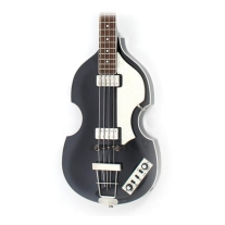 Hofner HCT-500/1 Beatle Bass - Black W/Case