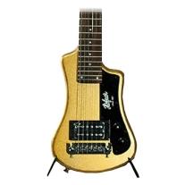 Hofner Shorty Travel Guitar - Gold W/Gig Bag