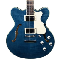 Hofner Verythin Contemporary Series Electric Guitar - Midnight Blue