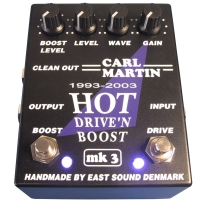 Carl Martin Hot Drive and Boost Pedal MK3