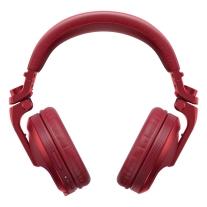 Pioneer DJ HDJ-X5BT Bluetooth Over-Ear DJ Headphones (Metallic Red)