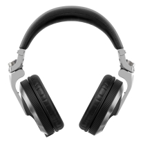 Pioneer HDJ-X7-K Professional DJ Headphones - Silver