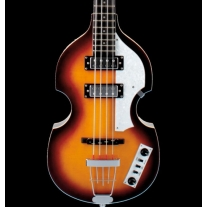 Hofner Hicasbo Ignition Violin B-Bass Cavern Spacing Beatle Bass Sunburst + Case