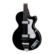 Hofner Ignition Club Bass Guitar (Black)