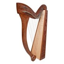 Roosebeck HMNA-V Minstrel Harp 29-String Vine