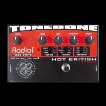Radial Tonebone Hot British Tube Drive Effects Pedal