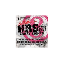 La Bella HRS-81 Crazy Eights 8 String Electric Guitar Strings 9 - 74