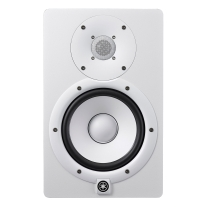 "Yamaha HS7W 6.5"" Powered Studio Monitor in White"