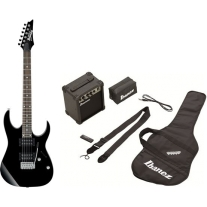 Ibanez IJRG220ZBK Electric Guitar Jumpstart Pack in Black