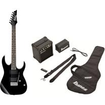 Ibanez IJRG220ZBK Electric Guitar Jumpstart Pack in Black