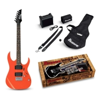 Ibanez IJRG220Z-VRD Jumpstart Beginner Electric Guitar Pack Vivid Red