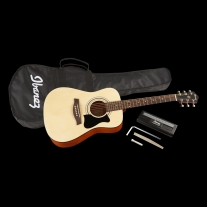 Ibanez IJV30 3/4 Jampack Quickstart Dreadnought Acoustic Guitar Pack