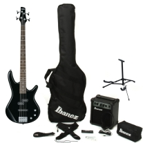 Ibanez IJXB150BBK Jumpstart Bass Package in Black