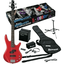 Ibanez IJXB150BRD Jumpstart Bass Package in Red
