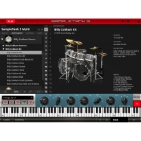 IK Multimedia SampleTank 3 - Billy Cobham Drums