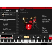 IK Multimedia SampleTank 3 - Neil Peart Drums