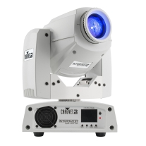 Chauvet Lighting INTIMSPOT255IRCWHT DJ Intimidator Spot 255 IRC, White Casing