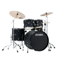 Tama Imperialstar 5-Piece Kit Drum Kit In Blacked Out Black