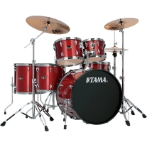 Tama IP62CCPM Imperialstar 6-Piece Ready to Rock Drum Kit - Candy Apple Mist