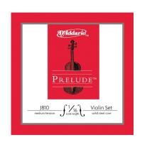 D Addario J810 Prelude Violin 1/16 Size Strings - Medium Tension