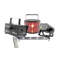 Chauvet Lighting JAMPACKGOLD DJ Jam Pack Gold Projection Lighting Effect