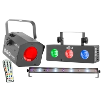 Chauvet Jam Pack Silver Lighting Package