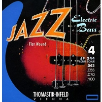 Thomastik-Infeld JF344 Bass Guitar Strings: Jazz Flat Wounds 4-String Long Scale