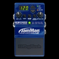 DigiTech JamMan Solo XT - Stompbox Looper with Stereo I/O and Sync