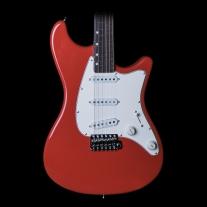 John Page Classic Ashburn - Fiesta Red, Rosewood Fingerboard w/ Gigbag