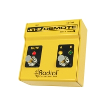 Radial JR2 Remote Control with A/B Input Select and Mute with LED Indicators