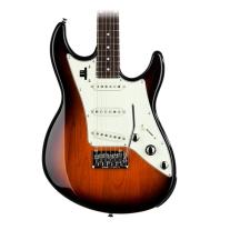 Line 6 JTV69S Variax Three Tone Sunburst STRAT-Style Guitar with Gig Bag