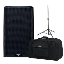 "QSC K12.2 12"" Two Way 2000W Powered Loudspeaker Bundle"