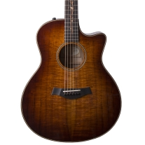 Taylor K26CE AA Koa Top Grand Symphony Acoustic Electric Guitar