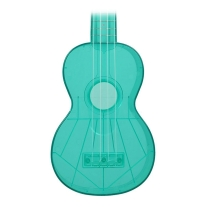 Kala Waterman Soprano Ukulele Fluorescent Blue