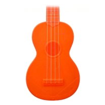 Kala Waterman Soprano Ukulele Fluorescent Orange