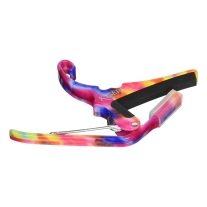 Kyser 6‑String Quick‑Change Capo, Tie Dye
