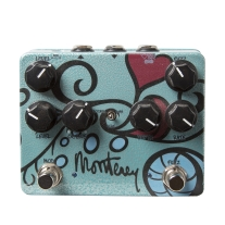 Keeley Monterey Rotary Fuzz Vibe Guitar Pedal