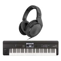 Korg Krome 73 Keyboard 73-Note Workstation with FREE Sennheiser HD200PRO Headphones