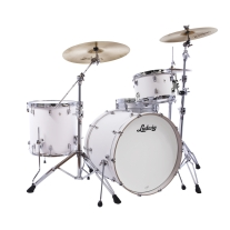 Ludwig L24023TX3T NeuSonic 3pc Outfit In Aspen White