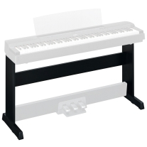 Yamaha L-255B Furniture Stand for P-255 Digital Piano in Black