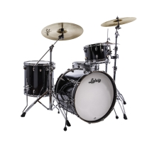 Ludwig L26223TXCG NeuSonic 3pc Outfit in Black Cortex