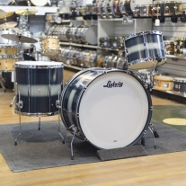 Ludwig L6143LXU1 Club Date Vintage Pro Beat Shell Kit in Blue Duco
