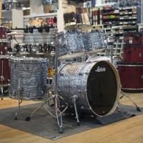 Ludwig Keystone X Mod 5 Piece Shell Kit In Sky Blue Pearl w/ Free Snare