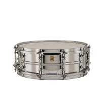 Ludwig LB400BT 5x14 Chrome Over Brass Snare with Tube Lugs