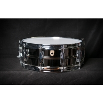 Ludwig LB416 5x14 Black Beauty Brass Shell Snare Drum